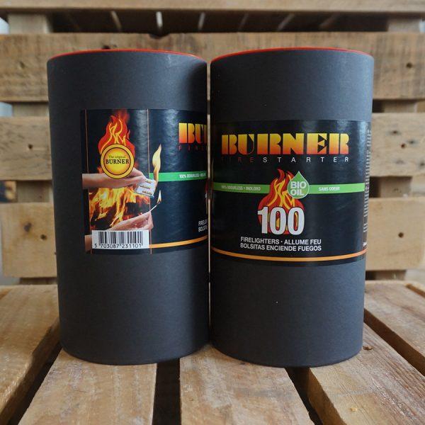 burner fire starter 100