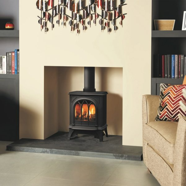 Gazco Huntingdon 20 Gas with tracery door