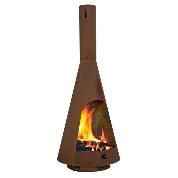 Froya Corten Outdoor Fire