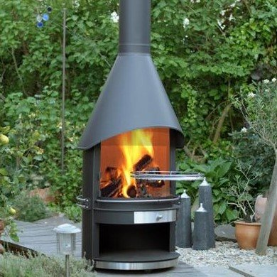 Girse Outdoor Fireplace - West Country Stoves