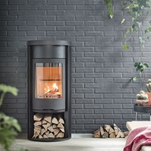 Heat Retaining Wood Burning Stove