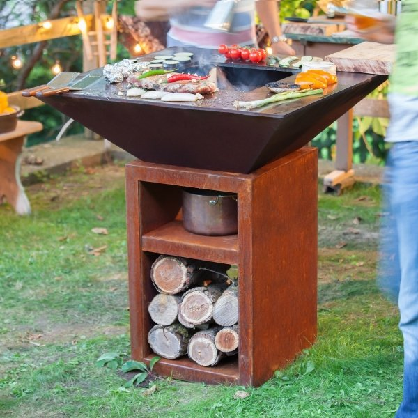Vulcanus Grill Pro 730-910 - West Country Stoves