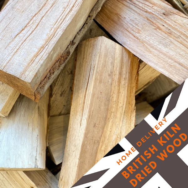 British Kiln Dried Wood -600