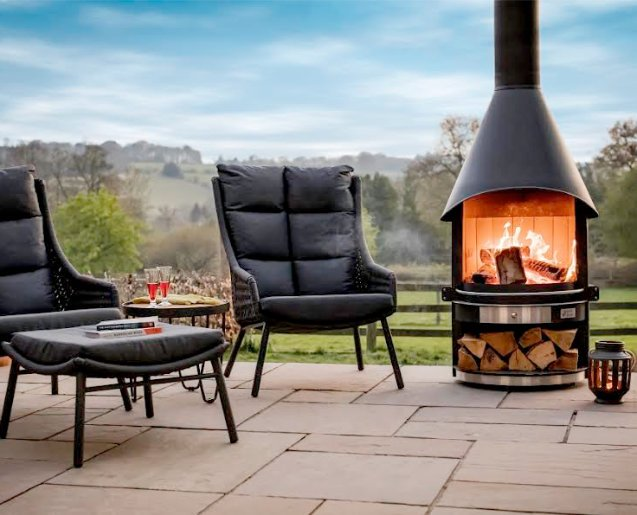 BBQ Fire Pits Outdoor Wood Burning Stove